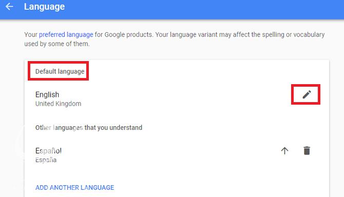 چگونه زبان را در گوگل تغییر دهیم؟