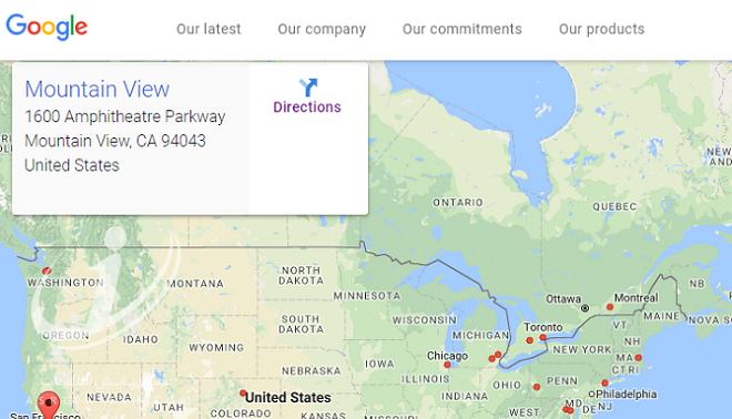 چگونه با کمپانی گوگل ارتباط برقرار کنیم؟