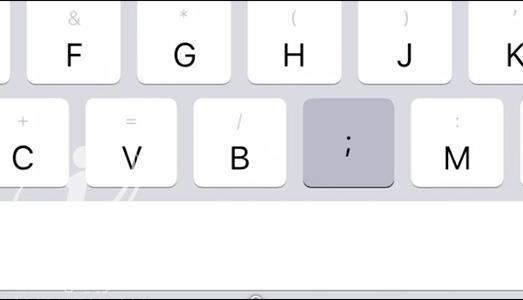 با این روش توسط صفحه کلید آیپد، نمادها را به سرعت تایپ کنید